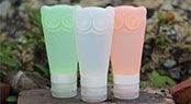leak proof silicone travel bottles T6