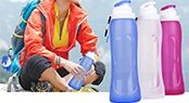 S3 Bpa Free foldable water bottle wholesale