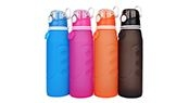 Roll up water bottle S5 pro display