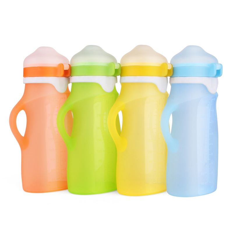 Silicone Reusable Pouches For Baby Food