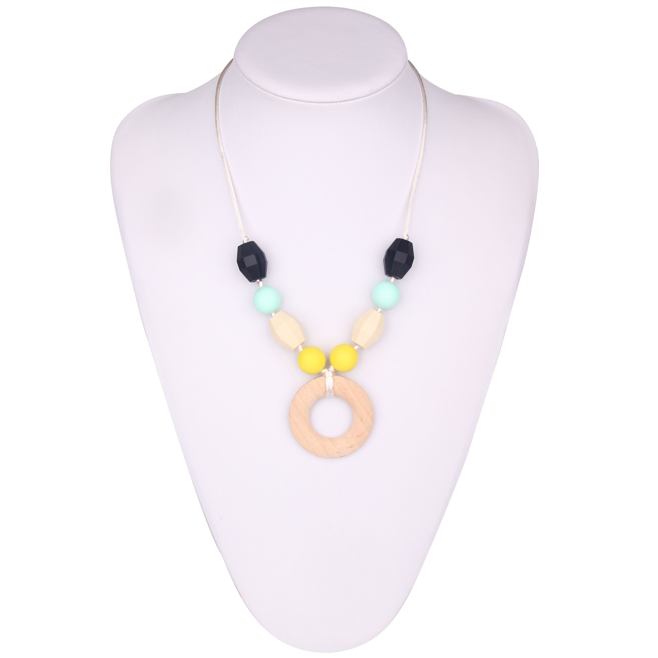 Bpa Free Silicone Necklace Wholesale Silicone Teething
