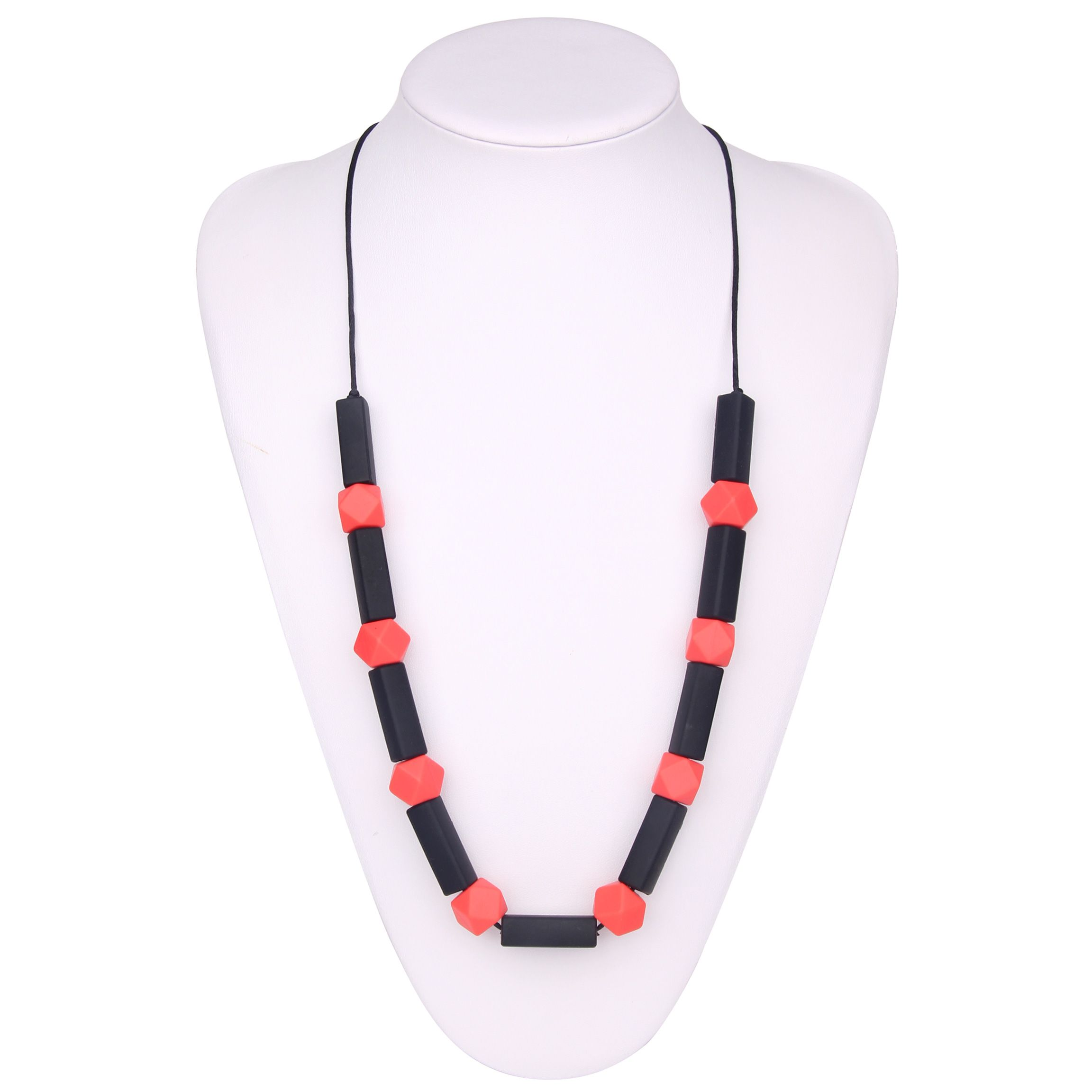 silicone necklace teething