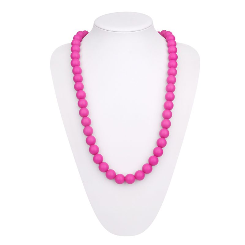 silicone chew necklace