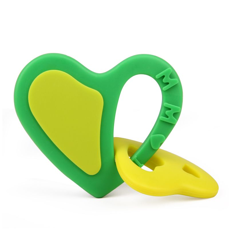 wholesale silicone heart pendant
