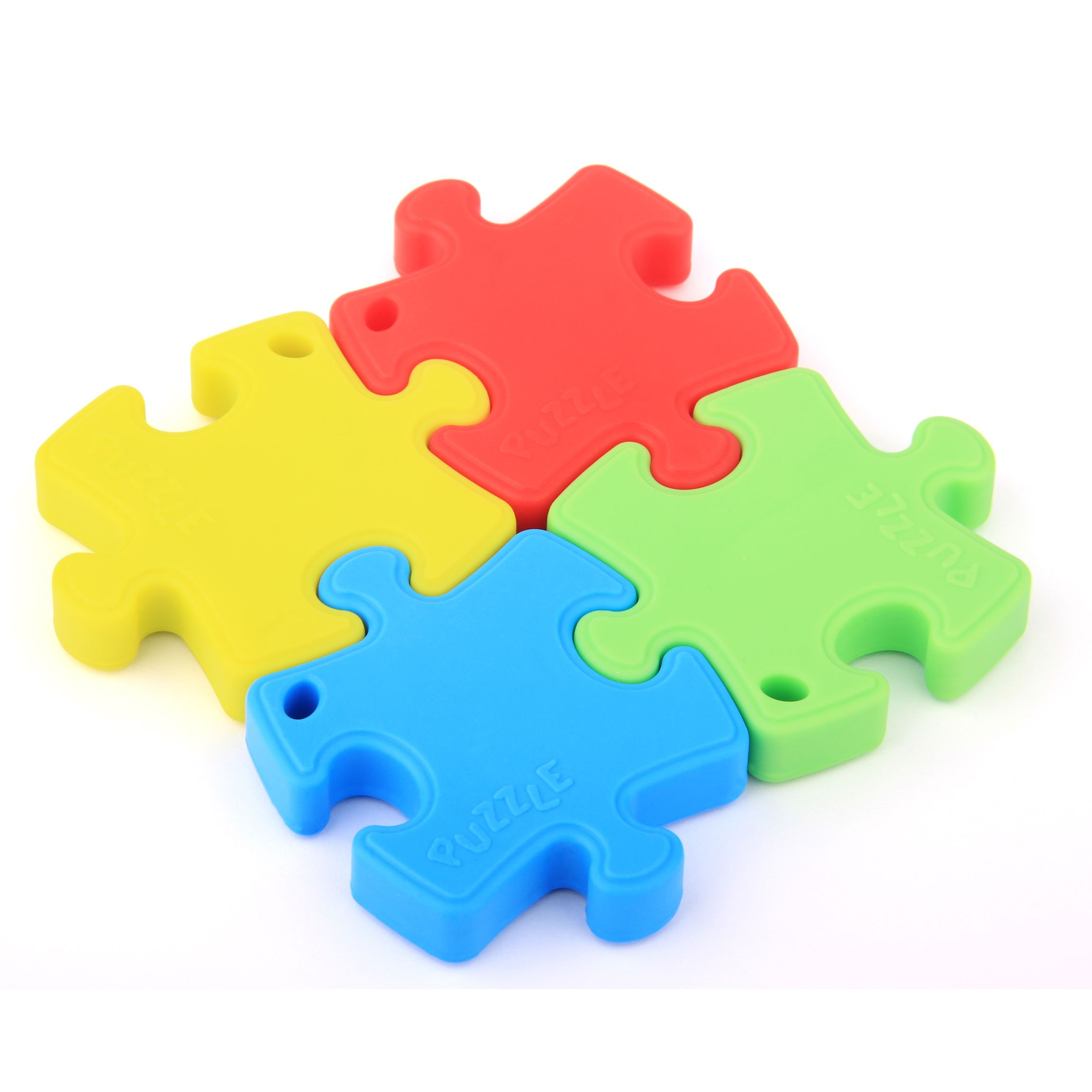 Silicone Teether Jigsaw Puzzles