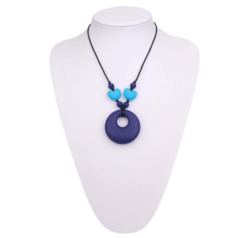Teething Necklace For Baby Food Grade Silicone Teething