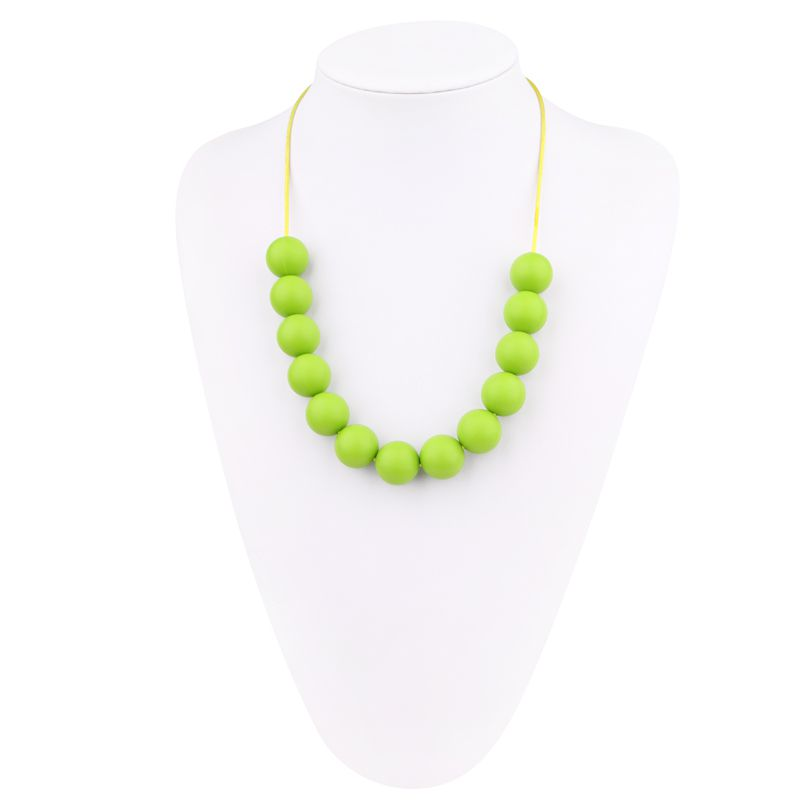 Food Grade Teething Necklace Silicone Are Safe For Baby