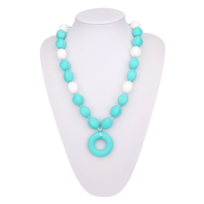 Baby Chew Necklace For Mom Silicone Chew Necklace Provide