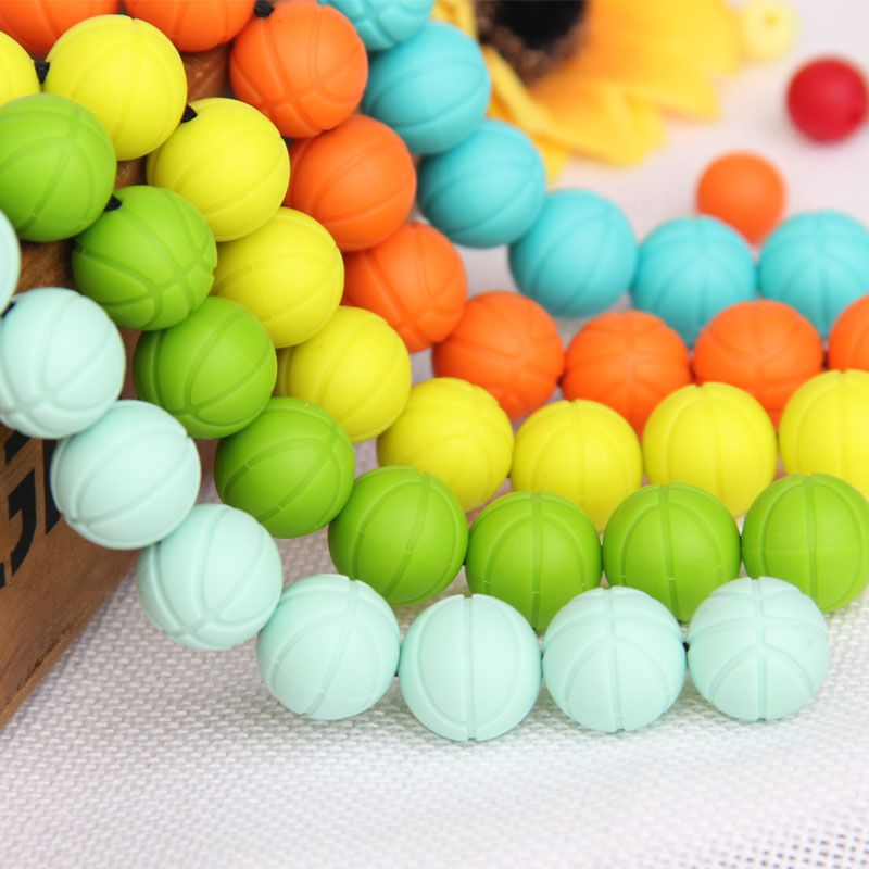 bpa free silicone beads wholesale