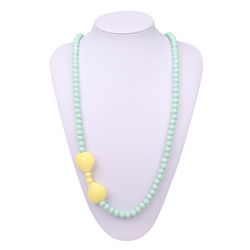Silicone Baby Teething Necklace For Mom Silicone Nursing