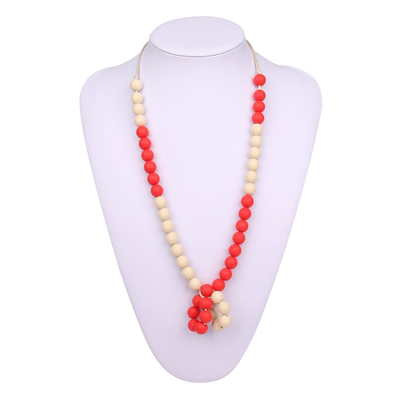 best teething necklace for to wear silicone