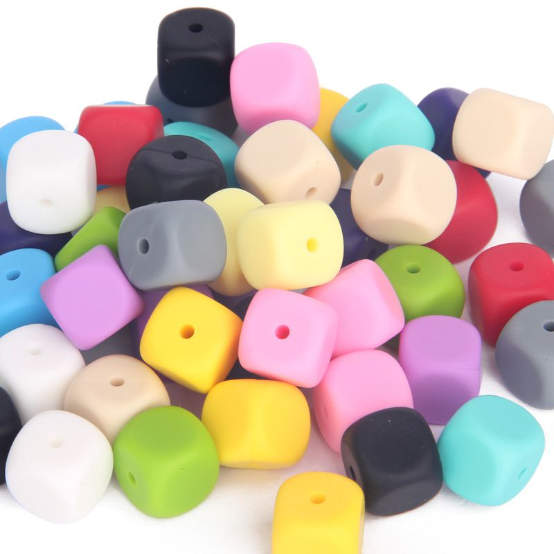 silicone beads teething