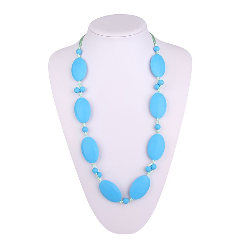 silicone teething necklace for wholesale