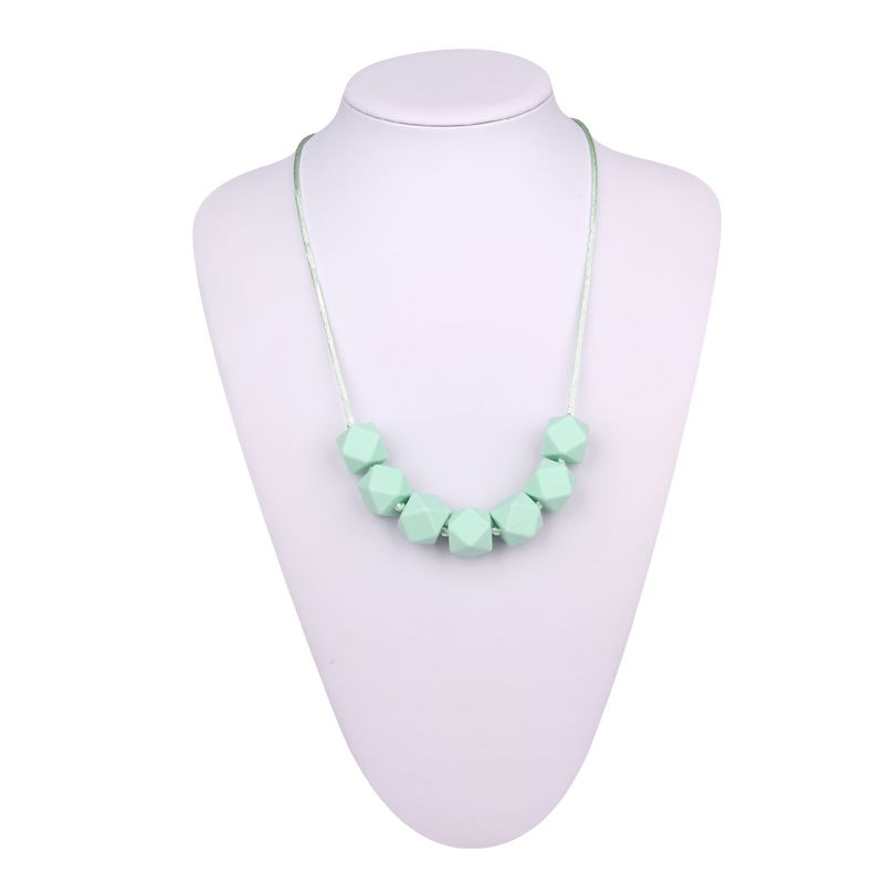 Food Grade Silicone Teething Necklace For Mom Wholesale
