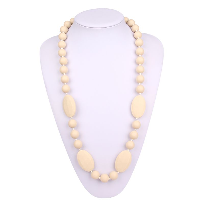 Silicone nursing necklace