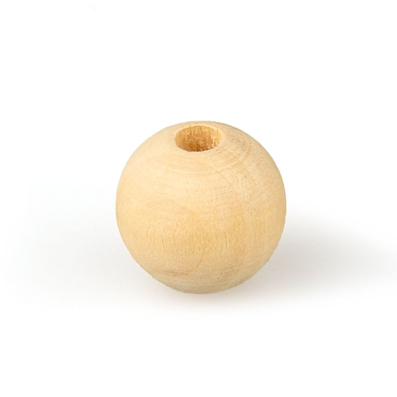 Wooden Beads Wholesale Wood Teething Beads Unfinished