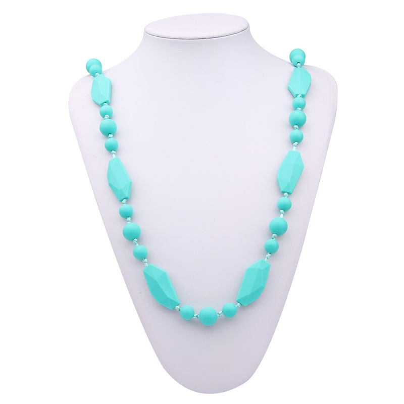Silicone teething jewellery