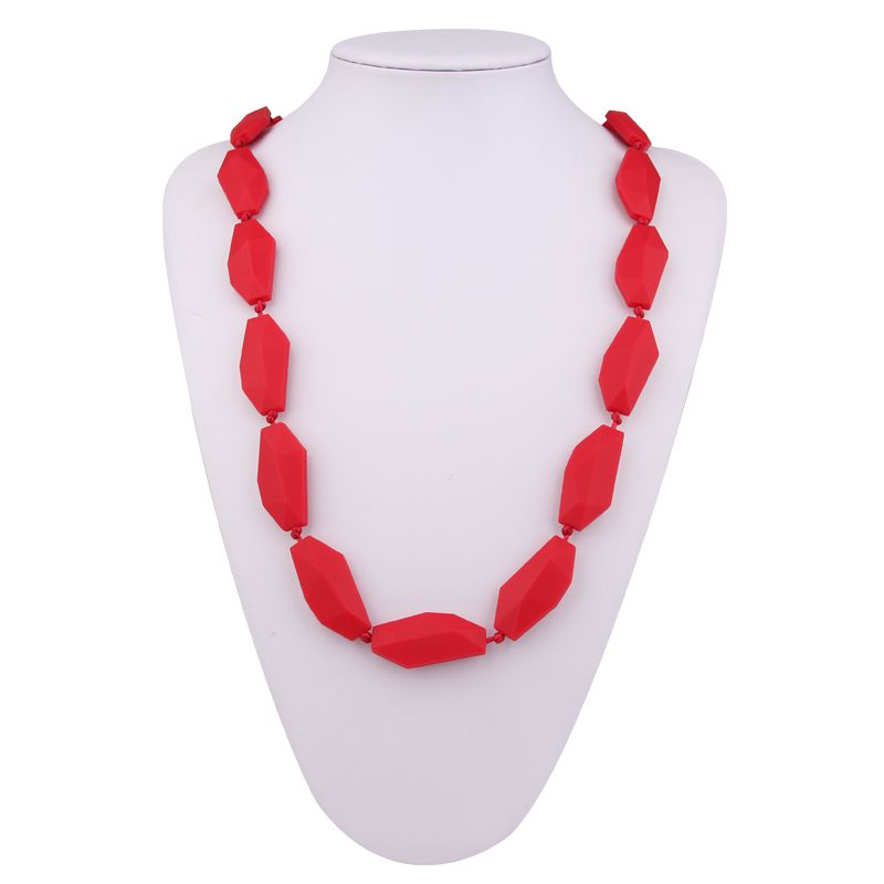 mom teething necklace