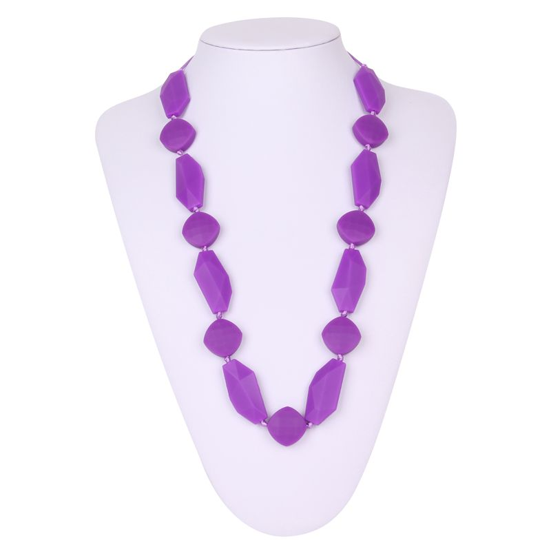 Silicone bead necklace