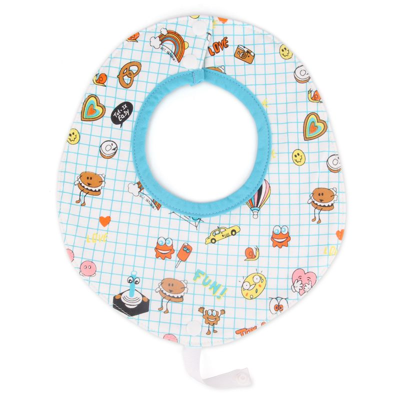 Bib With Teether 100 Jersey Cotton Drool Bibs Can Attach