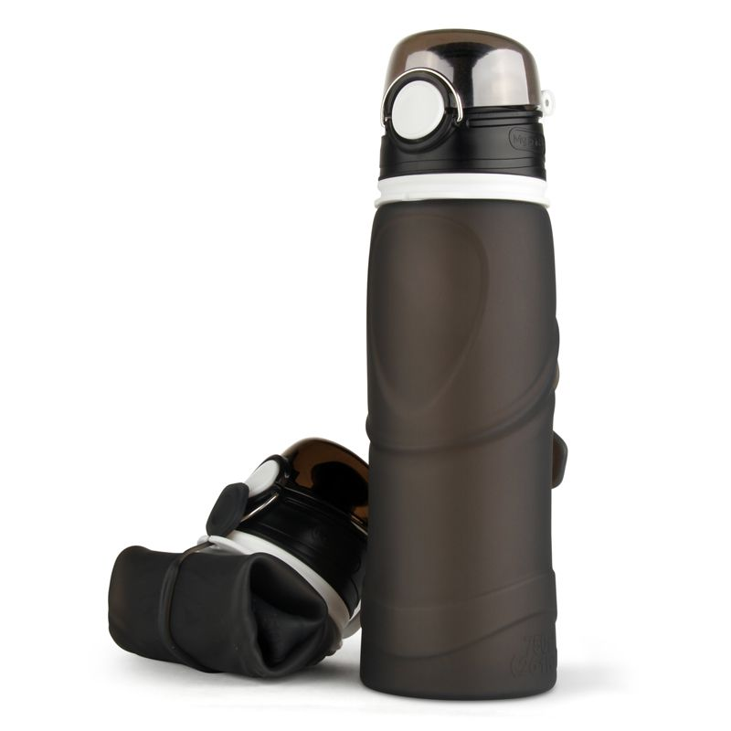 eco squeeze silicone water bottle