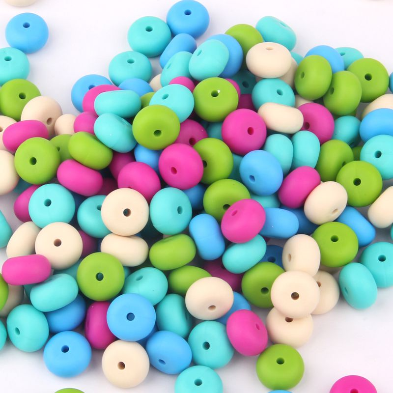 Bpa Free Silicone Beads for teething