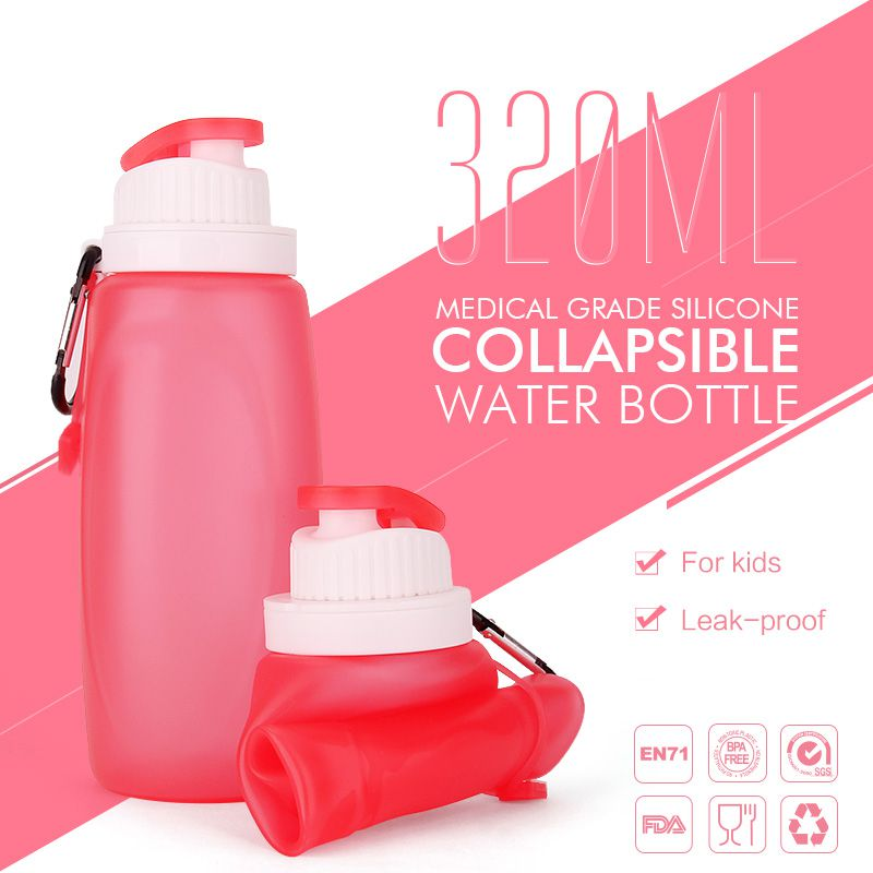kids collapsible water bottle