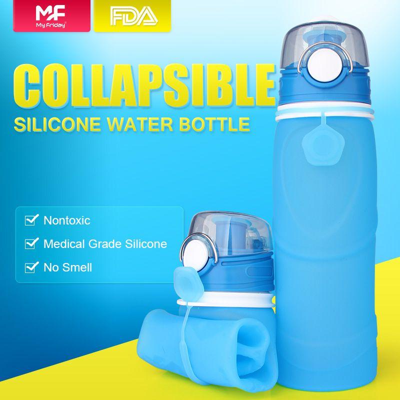 Reusable Water Bottles Bulk Silicone E Bottle