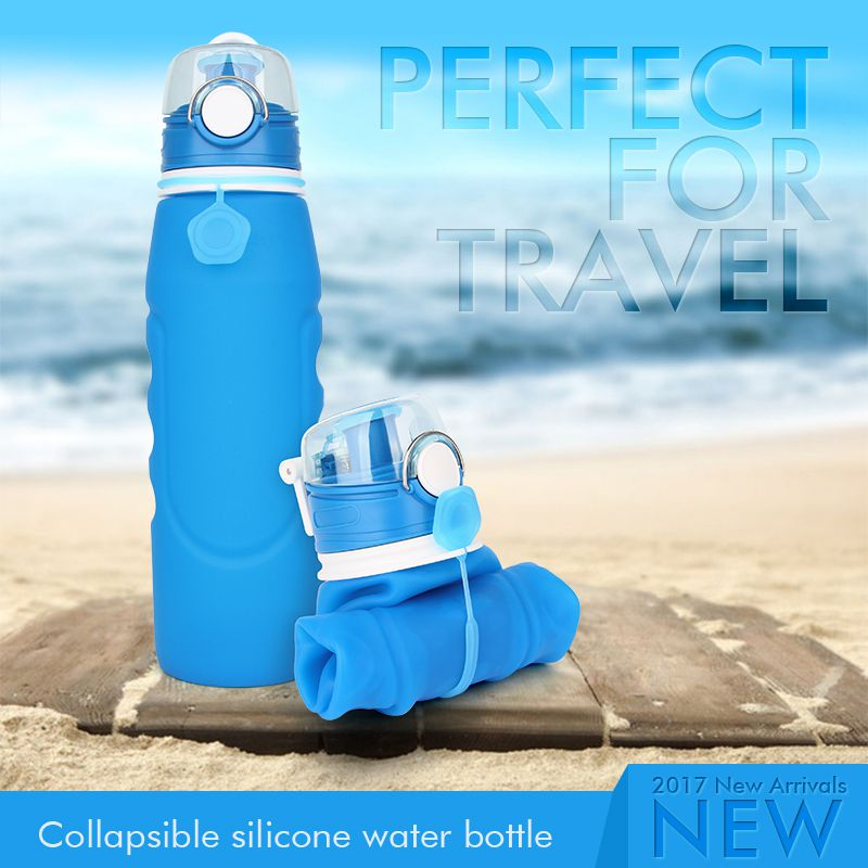 collapsible water bottle 1 litre