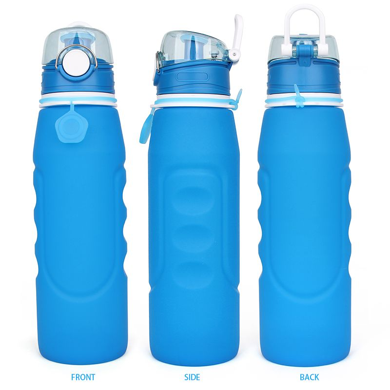 Collapsible Water Bottle 1 Litre Eco Friendly Reusable
