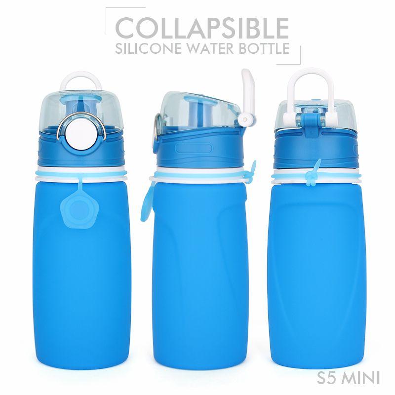 Foldable Water Bottle >> Foldable drinking bottle, 550ML Foldable water bottle bpa free foldable drinking bottle