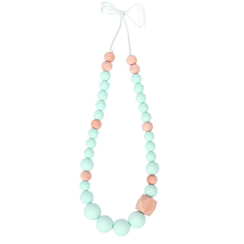 Silicone Teething Necklace Diy Breastfeeding Necklace