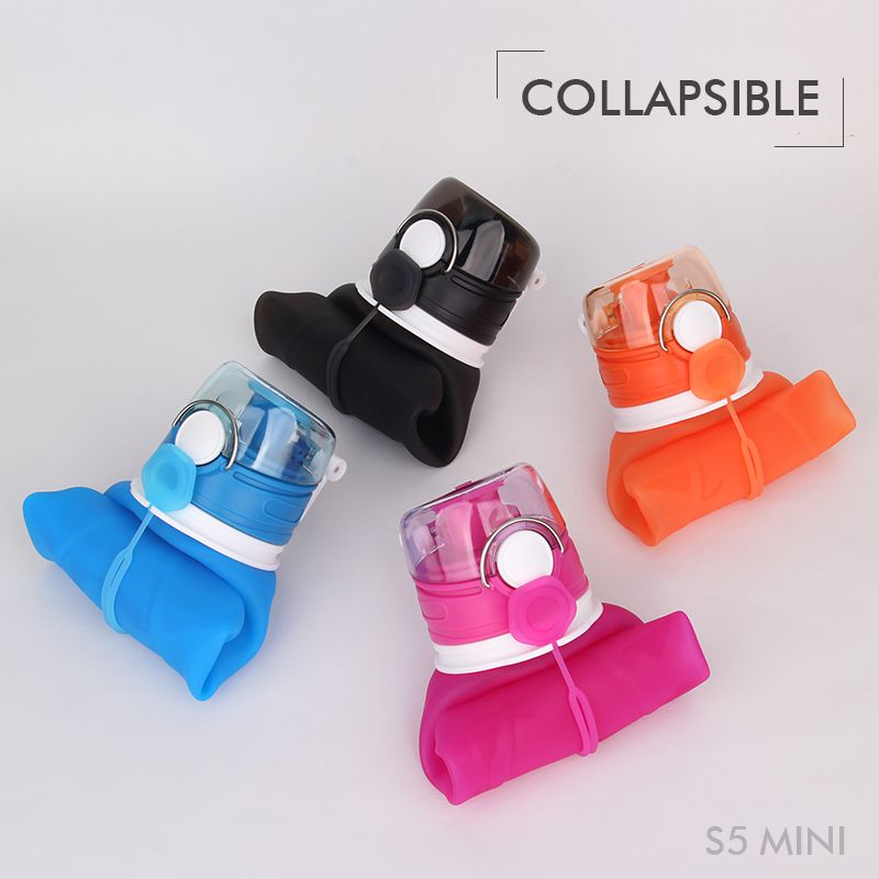 Collapsible water bottle promotional
