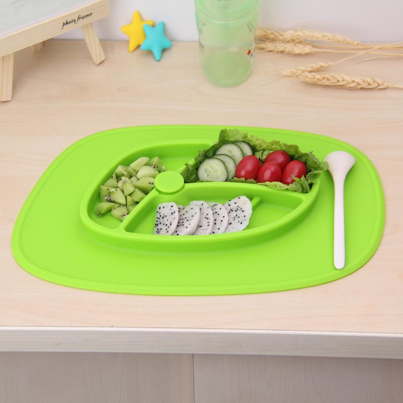 Kids Suction Plate Silicone Baby Bowl Ezpz Mat Kids
