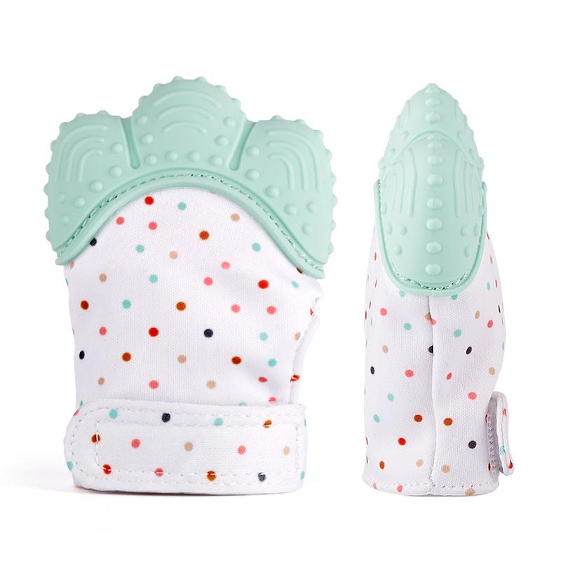 Baby Chew Mittens Teething Glove Teething Mittens