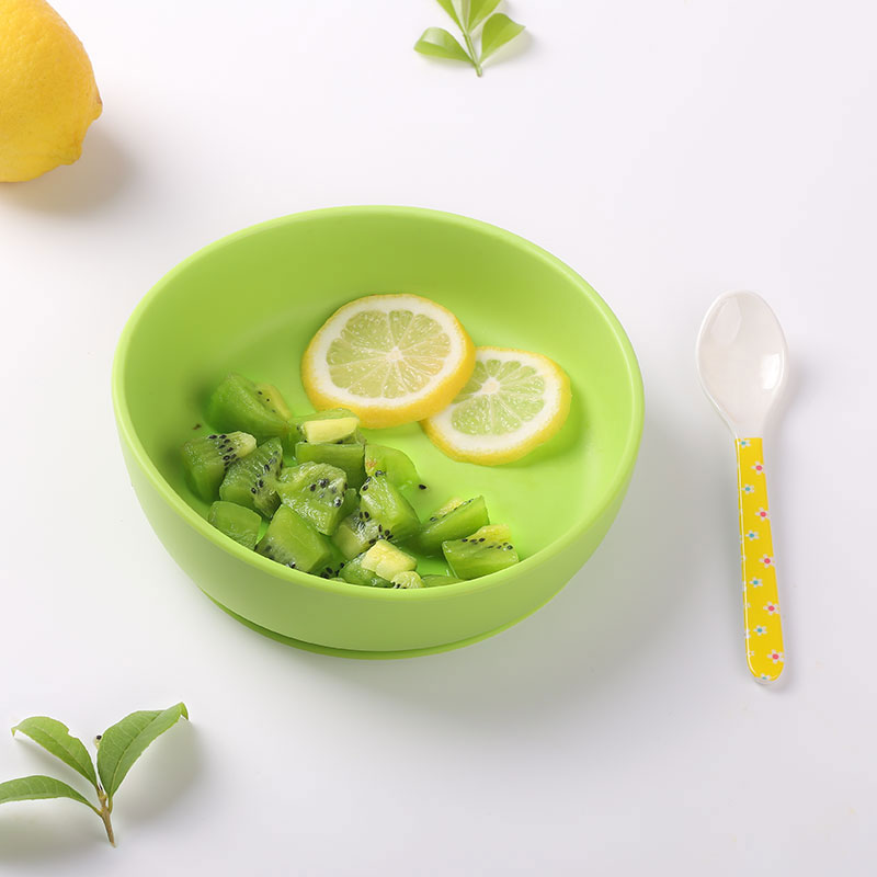 silicone placemat bowl