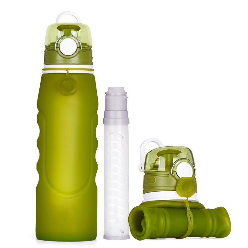 activated carbon filter water bottle