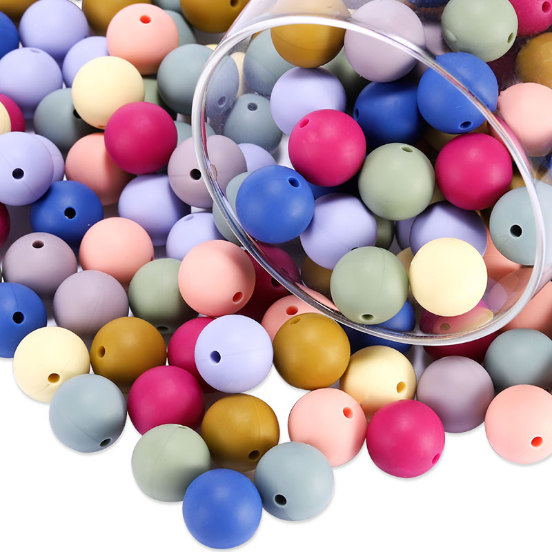 lets make Silicone Beads Bulk 17MM//30PC BPA Free Octagonal Beads Cow Series