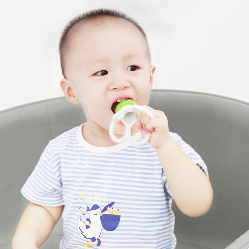 silicone teether octopus