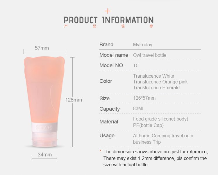 wholesale travel bottles, silicone travel shampoo bottles