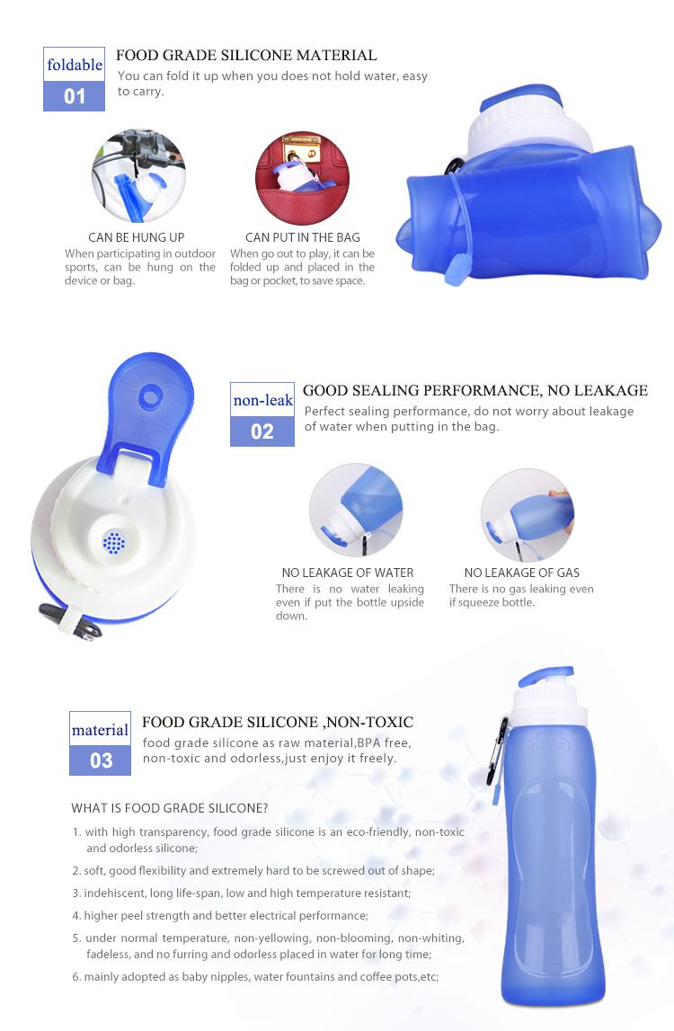 cheap prices foldable water bottle