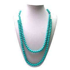 Food Grade Silicone Beads Necklace NK047