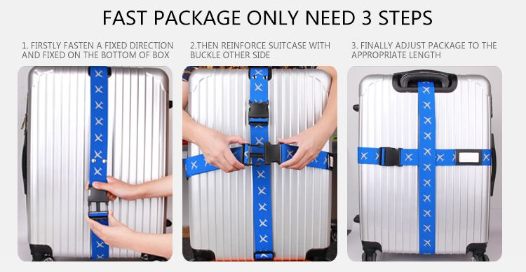 travel luggage straps