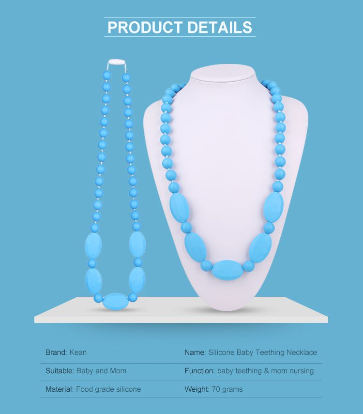 silicone beads necklace
