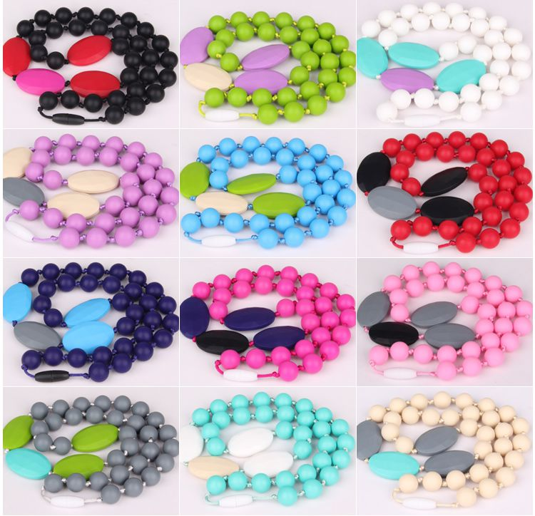 Wholesale products teething latest design beads necklace