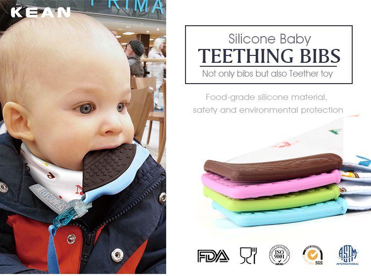 baby teething bibs