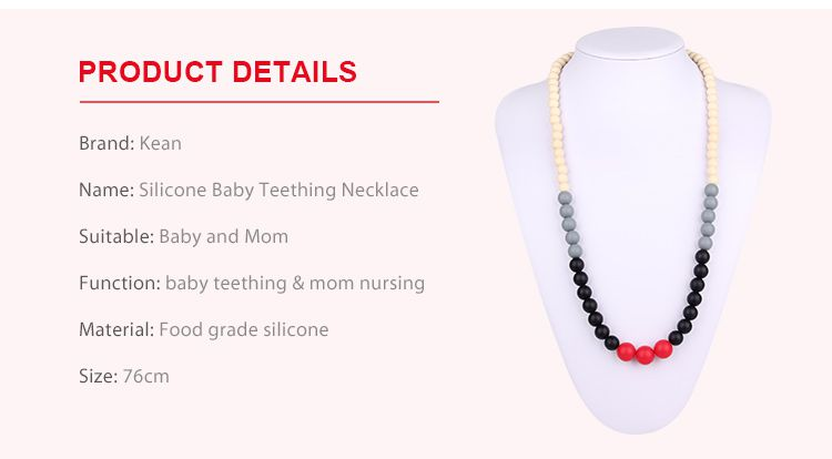 teething necklace australia