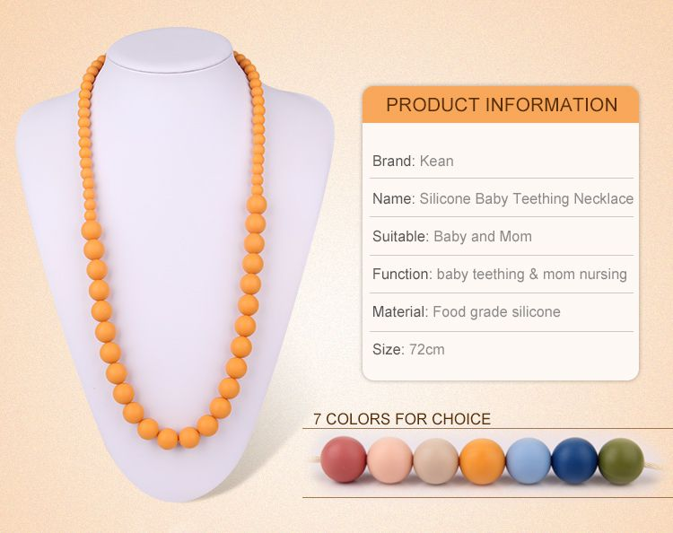 Silicone Nursing Necklace for mom