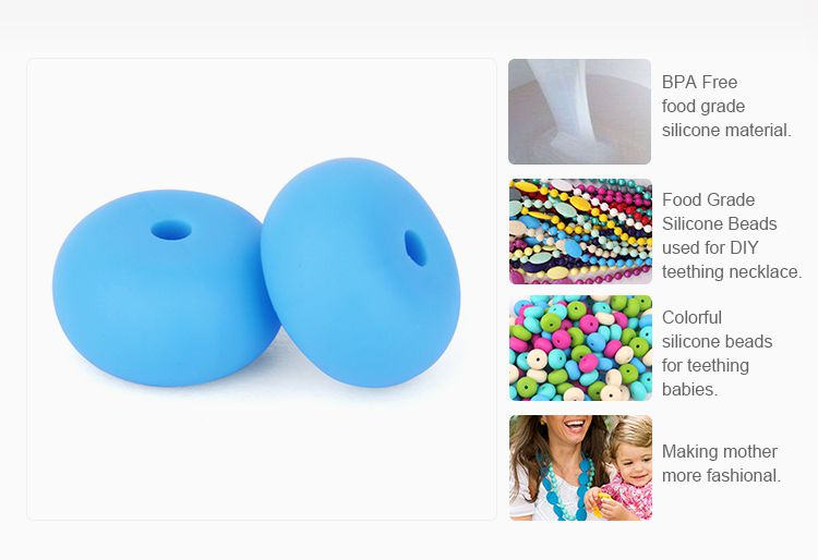 Bulk Silicone beads for sale