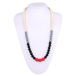 Silicone Bead necklace NK058